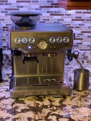 Breville Barista Express like new barely used ($800+ new) for Sale in Port St. Lucie, FL