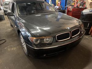 2002 bmw 745Li parts car for Sale in Baltimore, MD