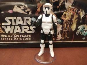Vintage star wars action figure BIKER SCOUT 1983 for Sale in Clarksville, IN