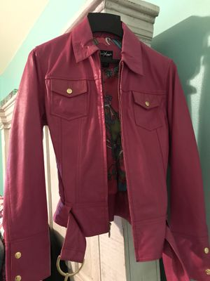 Wilson's real leather hot pink coat size Small for Sale in Lake Stevens, WA
