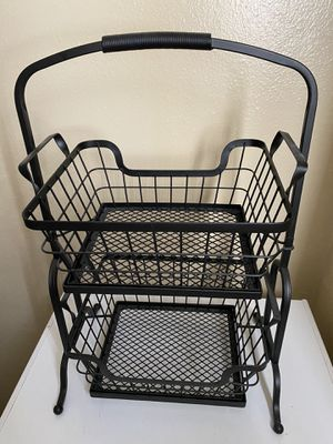 Member's Mark 2-Tier Wire Basket for Sale in Denver, CO