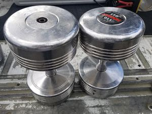 Great Condition 110 LB Dumbells for Sale in Los Alamitos, CA