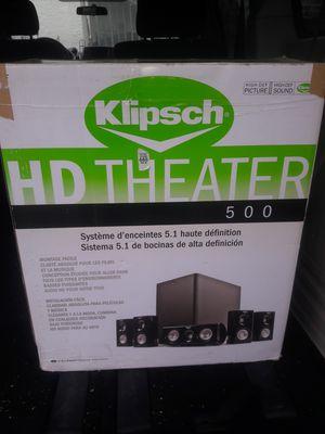 KLIPSCH SURROUND SOUND SPEAKER SYSTEM for Sale in San Diego, CA