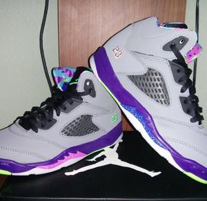 Limited Edition Bel Air Jordan Retro 5 Size 2.5Youth Shoes for Sale in West Palm Beach, FL