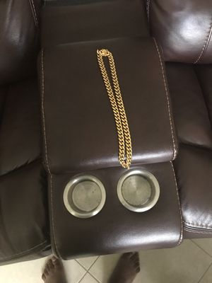 18k gold plated chain for Sale in Port St. Lucie, FL