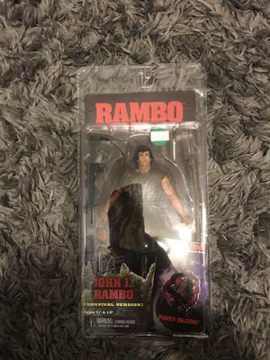 Rare RAMBO JOHN J ACTION FIGURE for Sale in Seattle, WA