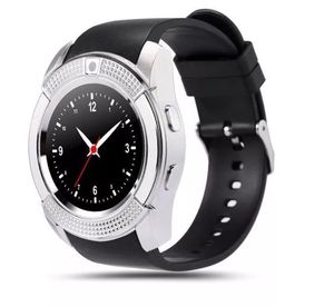 V8 Wireless Smart Men Women Wrist Watch Bluetooth SIM GSM Fitness Phone Mate For iOS Android iPhone for Sale in Coram, NY