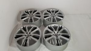 "Silver Black 20"" Jaguar XF XK SELENA 20 WHEELS RIMS Factory OEM Original 20 Inch for Sale in San Diego, CA"