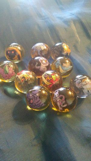 Vintage Pokemon marbles for Sale in Holdenville, OK