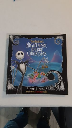 Nightmare Before Christmas Super Pop-Up Book for Sale in Sacramento, CA