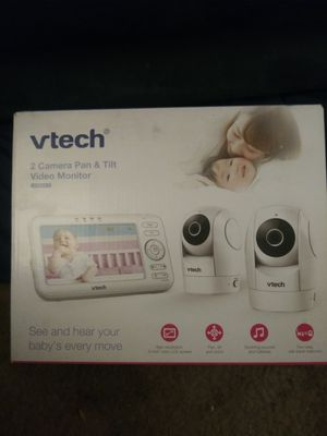 Vtech 2 Camera Pan& Tilt Video Monitor for Sale in Norco, CA