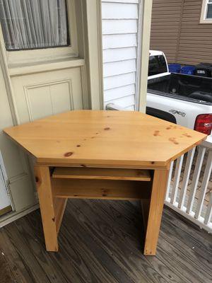 Solid Wood Corner Desk for Sale in East Rutherford, NJ