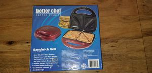Sandwich grill cheese maker kitchen stove appliance food for Sale in Modesto, CA