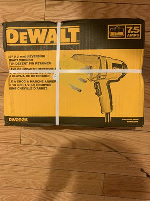 50% OFF BRAND NEW Dewalt 7.5-Amp 1/2-in Corded Impact Wrench for Sale in Chicago, IL