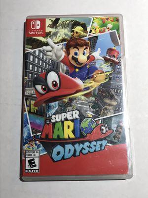 Nintendo Switch Super Mario Odyssey Video Game for Sale in Renton, WA