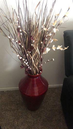 Vase w/sticks for Sale in Stockton, CA