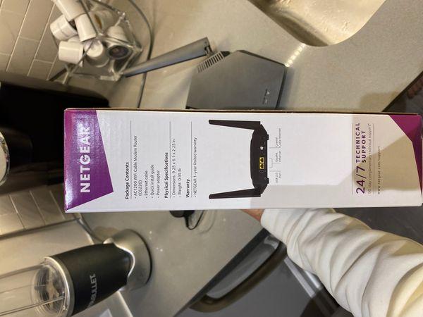 NETGEAR AC 1200 WiFi Cable Modem Router