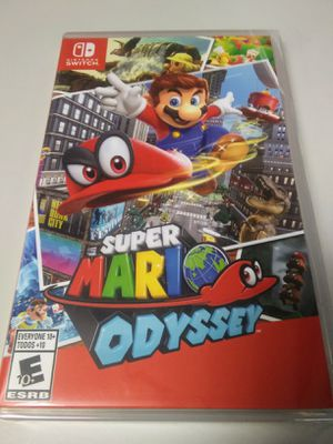 Super Mario Odyssey For Nintendo Switch for Sale in Houston, TX