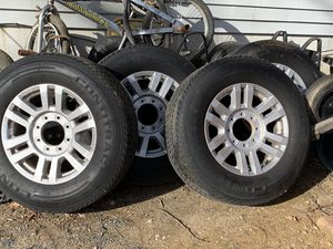 """2019 Ford F-250 wheels and rims 18"""" for Sale in Springfield, VA"""