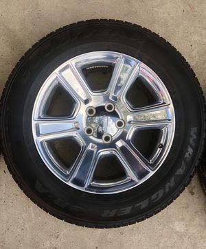 "20"" Dodge Ram 1500 Laramie 2018 OEM wheels for Sale in San Antonio, TX"