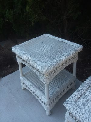 Outdoor Wicker tables n furniture for Sale in Farmingdale, NY