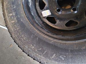 2 Trailer tires, 5 lug for Sale in Alpharetta, GA