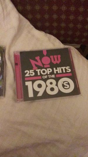 New CD's one is Now 25 Top Hits of the 1980's for Sale in Abilene, TX