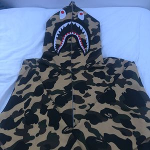 Bape Shark Hoodie 1st Camo Yellow for Sale in Charlotte, NC