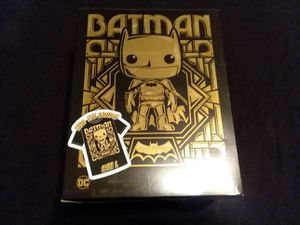 Large Batman pop tee from funko NO FIGURE for Sale in Highland, CA