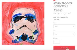 Shane Bowden Original Storm Trooper for Sale in Boston, MA