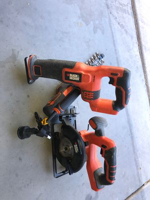 Black and decker power tools for Sale in Peoria, AZ