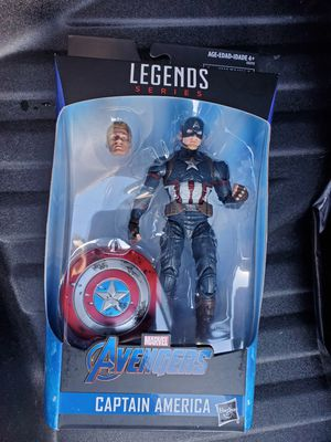 Marvel legends worthy captain america for Sale in Long Beach, CA