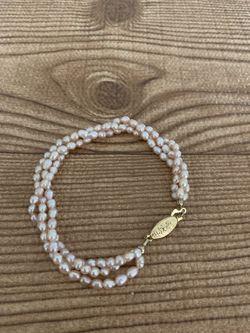 Freshwater Pearls bracelet , light pink. for Sale in Cypress,  CA