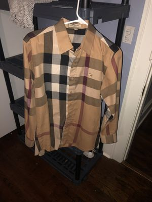 Burberry shirt for Sale in Ambridge, PA