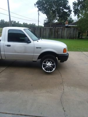 2002 Ford Ranger 130k miles with pinnacle rims 130 for Sale in Houma, LA