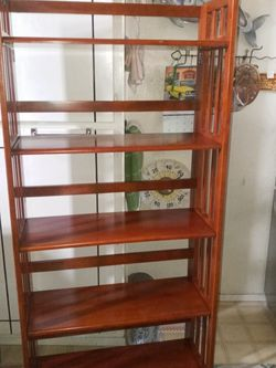 5 Shelf Free Standing/Folding Unit for Sale in Everett,  WA