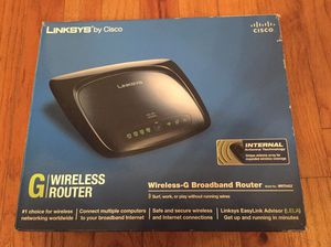 Linksys wireless router for Sale in Franklin, MA