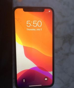 Iphone X 64 gig for Sale in Los Angeles, CA