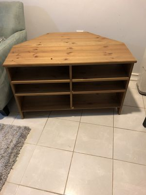 TV stand/corner Shelf for Sale in Chevy Chase, DC