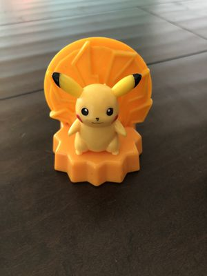 Pikachu, Pokemon—Burger King Toy Nintendo Card Holder Collectible (2008) for Sale in Corona, CA