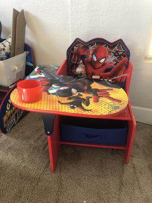 Spider-Man kids desk for Sale in Irwindale, CA