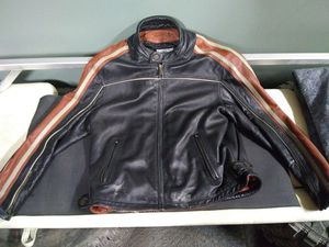 Wilson leather bike jacket for Sale in Chippewa Falls, WI