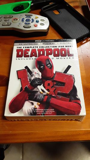 Deadpool 1 and 2 4k blu ray dvd for Sale in Wantagh, NY