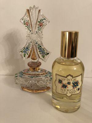 NEROLI Eau de Parfum 1.7 oz, 50 ml; Hand Cut Crystal Perfume Bottle for Sale in Houston, TX