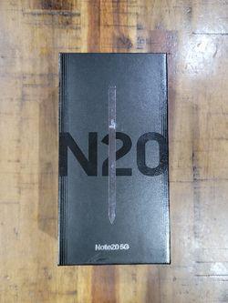 Samsung Galaxy Note 20 5G Unlocked for Sale in Lynnwood,  WA