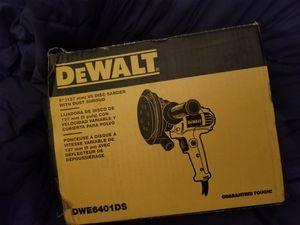 "Dewalt 5""(127mm) vs disc sander with dust shroud for Sale in San Francisco, CA"