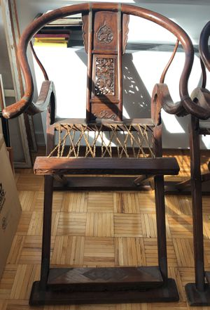 Hunter Antique Chairs from China (selling together OR separate) for Sale in Brooklyn, NY