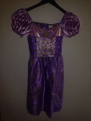 Rapunzel Girl Halloween Costume Size 4-6x for Sale in Largo, FL