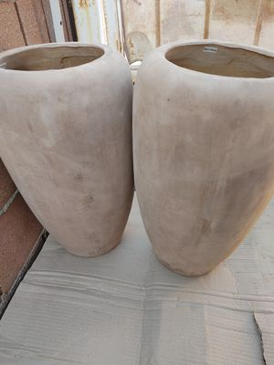Medium large clay pottery $70 each for Sale in Norwalk, CA