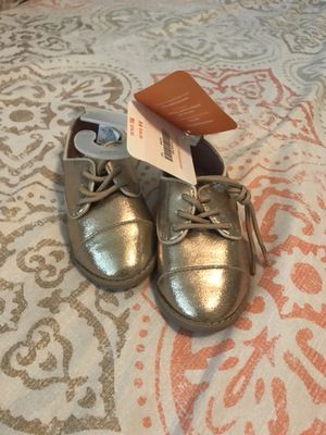 Gymboree gold Oxford shoes for Sale in Houston, TX
